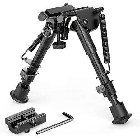 Carbon fibre H style bipod with RIS Adapter