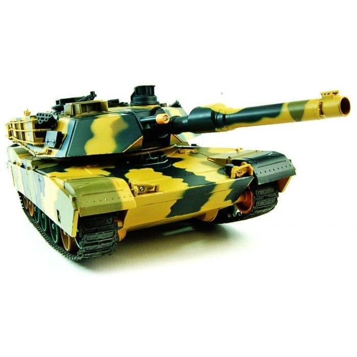 1/24 Airsoft BB M1A2 Battle RC Tanks