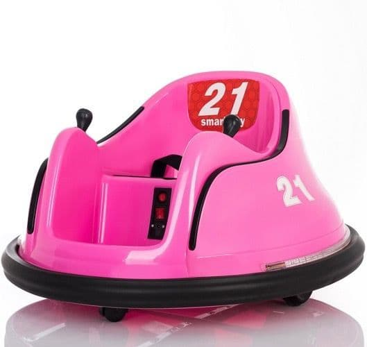 Children's Waltzer Car Battery Operated Electric Ride On Toy - Pink
