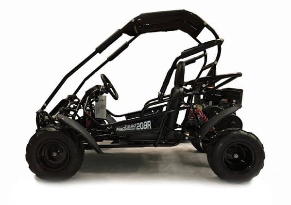 Hammerhead Mudhead™ Reverse -  208R Kids Off Road Buggy - Black