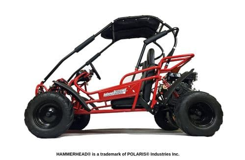Hammerhead Mudhead™ Reverse -  208R Kids Off Road Buggy - Red