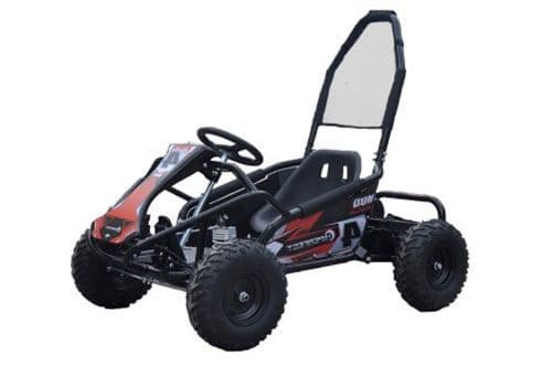 Kids Electric MUD MONSTER - Go Kart - 1000w - 48v - BLACK