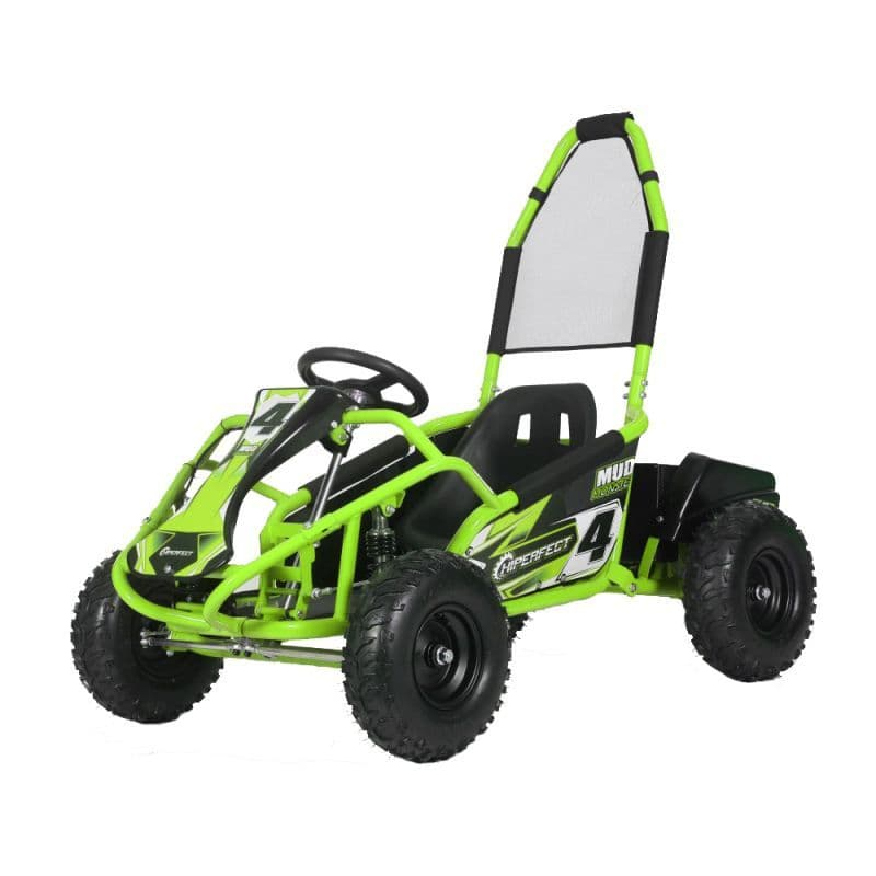Kids Electric MUD MONSTER - Go Kart - 1000w - 48v - GREEN
