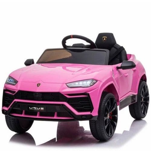 Licensed Lamborghini Urus 12V Ride On Children's Electric SUV - Pink