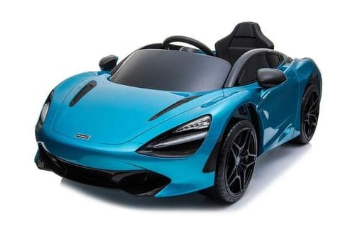 Licensed McLaren 720S 12V Battery Powered Kids Electric car - Belize Blue