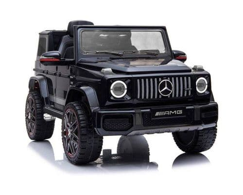 Licensed Mercedes-Benz G63 12V Children's Ride On Jeep - Black
