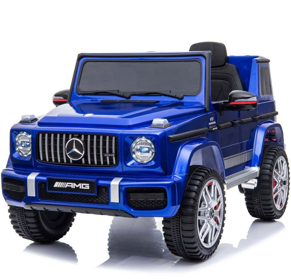 Licensed Mercedes-Benz G63 12V Children's Ride On Jeep - Blue