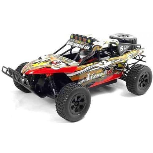 LIZARD 1/18TH SCALE 4WD ELECTRIC RC TROPHY TRUCK - 2.4GHZ