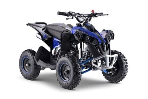 Renegade 50cc Kids Mini Petrol Quad Bike - Blue