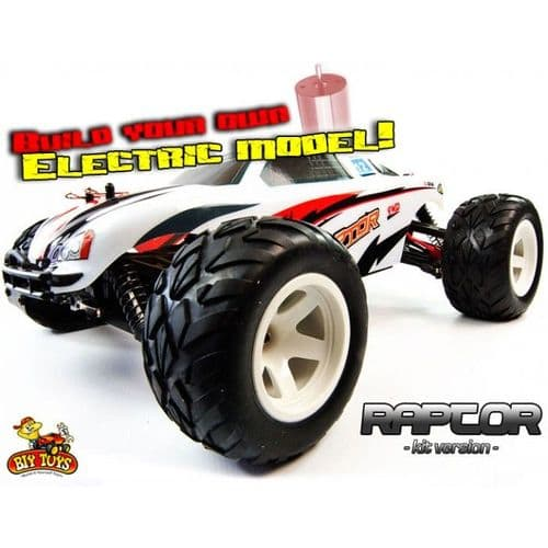 SELF BUILD RAPTOR RC ELECTRIC TRUGGY - BRUSHLESS VERSION
