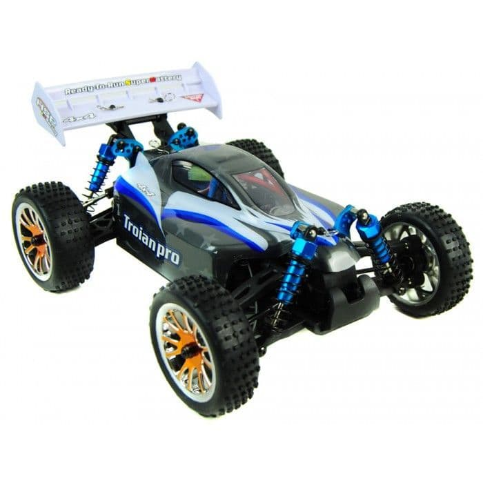 Trojan 1:16 RC Racing Buggy 2.4G - PRO Brushless 4WD Version