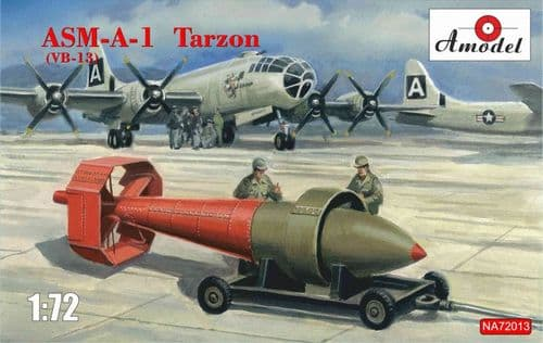 A-Model 1/72 Model Kit NA72013 ASM-A-1 Tarzon (VB-13)