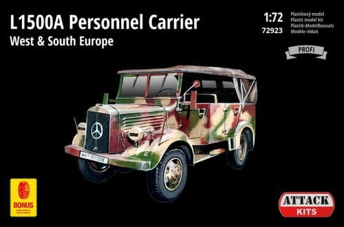 Attack 1/72 Model Kit 72923 M.B. L1500A Personnel Carrier - Europe