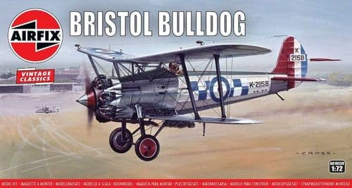 Bronco 1/72 Model Kit 01055V Bristol Bulldog 'Vintage Classics series'