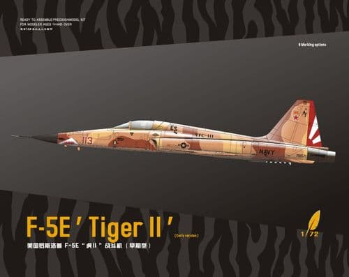 Dream Model 1/72 Model Kit 720013 Northrop F-5E Tiger II (Early version)