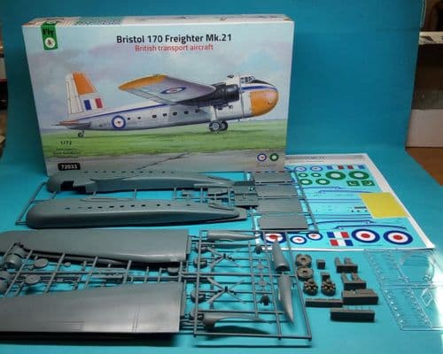 Fly 1/72 Model Kit 72033 Bristol 170 Freighter Mk.21