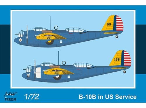 Frrom-Azur 1/72 Model Kit FR044 Martin B-10B in US Service