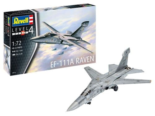 Revell 1/72 Model Kit 04974 General-Dynamic EF-111A Raven