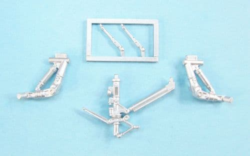 SAC 72177 Metal 1/72 F/A-18E/F/A-18F/F/A-18G Landing Gear (designed to be used with Academy kits)