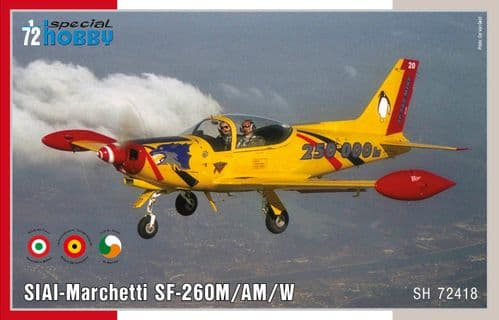 Special Hobby 1/72 Model Kit 72418 SIAI Marchetti SF-260