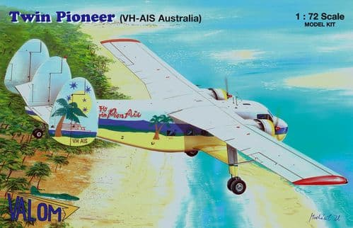 Valom 1/72 Model Kit 72144 Scottish-Aviation Twin Pioneer (VH-AIS Australia)
