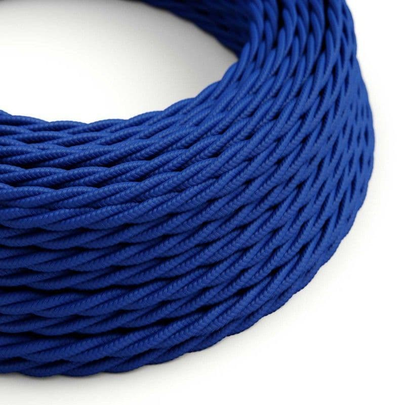 Blue Twisted 3 Core Electrical Cable
