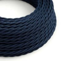 Dark Blue Twisted 3 Core Electrical Cable