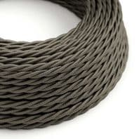 Dark Grey Twisted 3 Core Electrical Cable