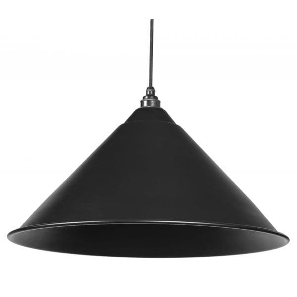 From The Anvil 49520B Black Full Colour Hockley Pendant