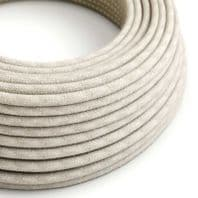 Natural Linen 3 Core Electrical Cable