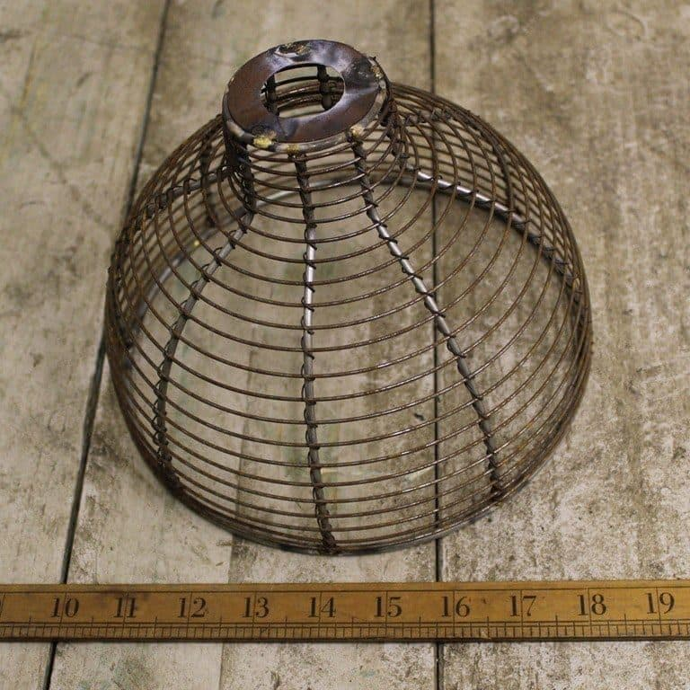 Pendant Hanging Light Shade Bell Cage 200mm