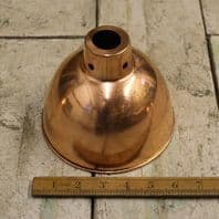 Pendant Hanging Light Shade Polished Copper 150mm