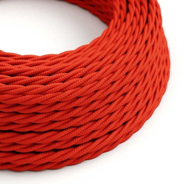 Red Twist 3 Core Electrical Cable
