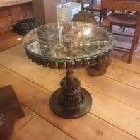 Table Made From Motorcycle Parts
