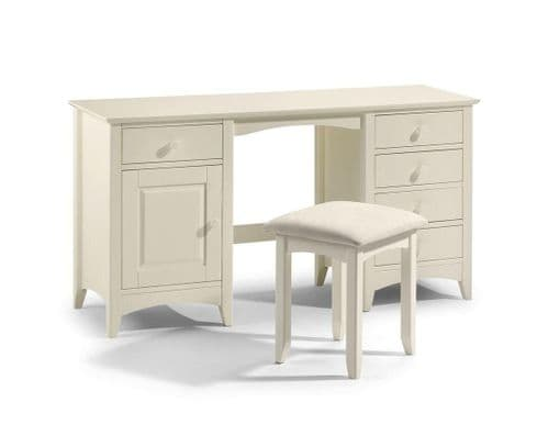 Bellagio twin pedestal dressing table