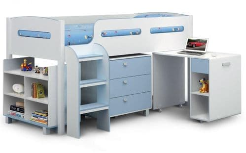 Orion Cabin Bed- Blue