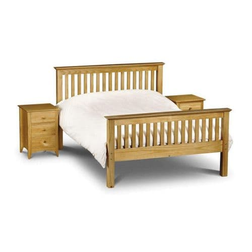 Orleans Bed High foot end - Solid Pine