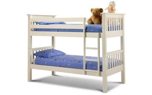 Orleans Bunk Bed - Stone white finish