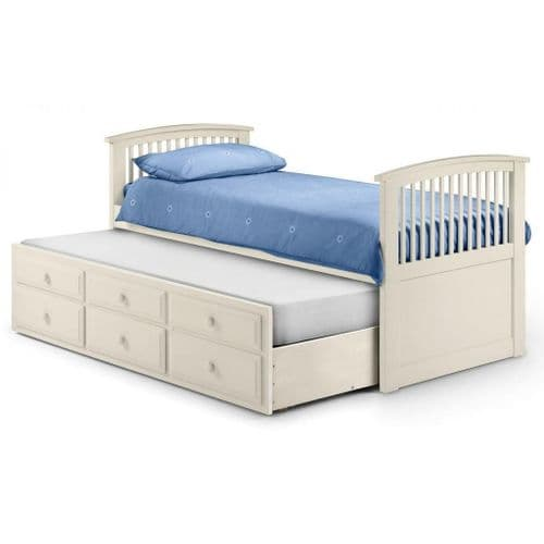 Plaza bed- White finish