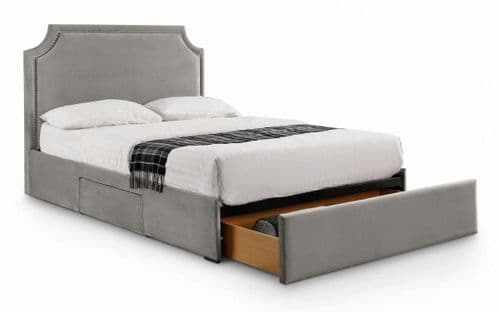 Positano 3 Drawer Studded Bed