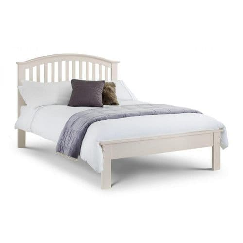 Sapphire Bed- Stone white finish