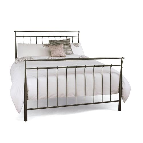 Serene  Elizabeth Bed Frame in Titanium Grey