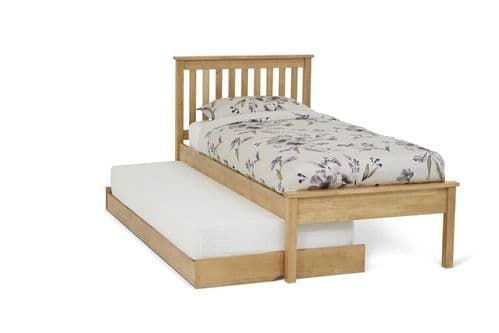 Serene Heather Guest Bed In Honey Oak or Opal White