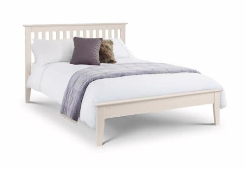 Tremezzo Bed- Ivory lacquered finish 135cm