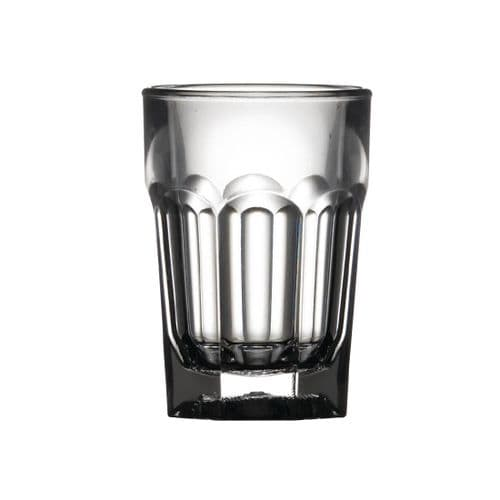 BBP Polycarbonate Shot Glasses 25ml CE Marked (Pack of 24)