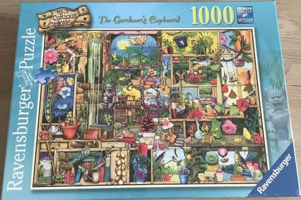 The Gardeners Cupboard Ravensburger 1000 Piece Puzzle