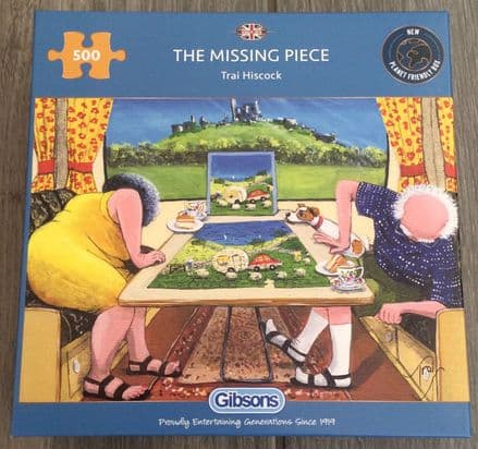 The Missing Piece Gibsons 500 Piece Puzzle