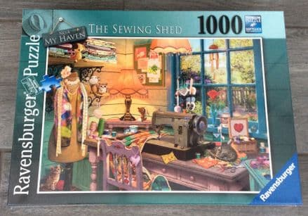 The Sewing Shed Ravensburger 1000 Piece Puzzle