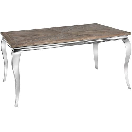 Mayfair Collection Reclaimed Elm Dining Table