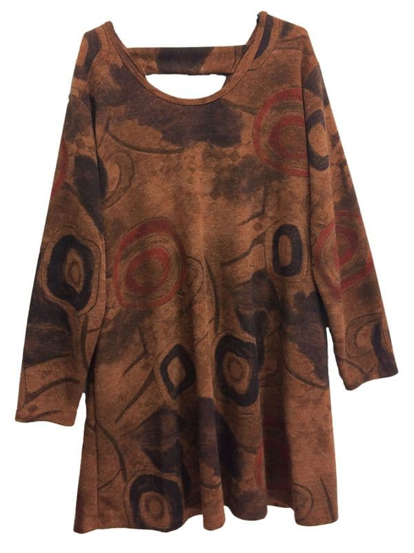 Crossback Spiral Tunic